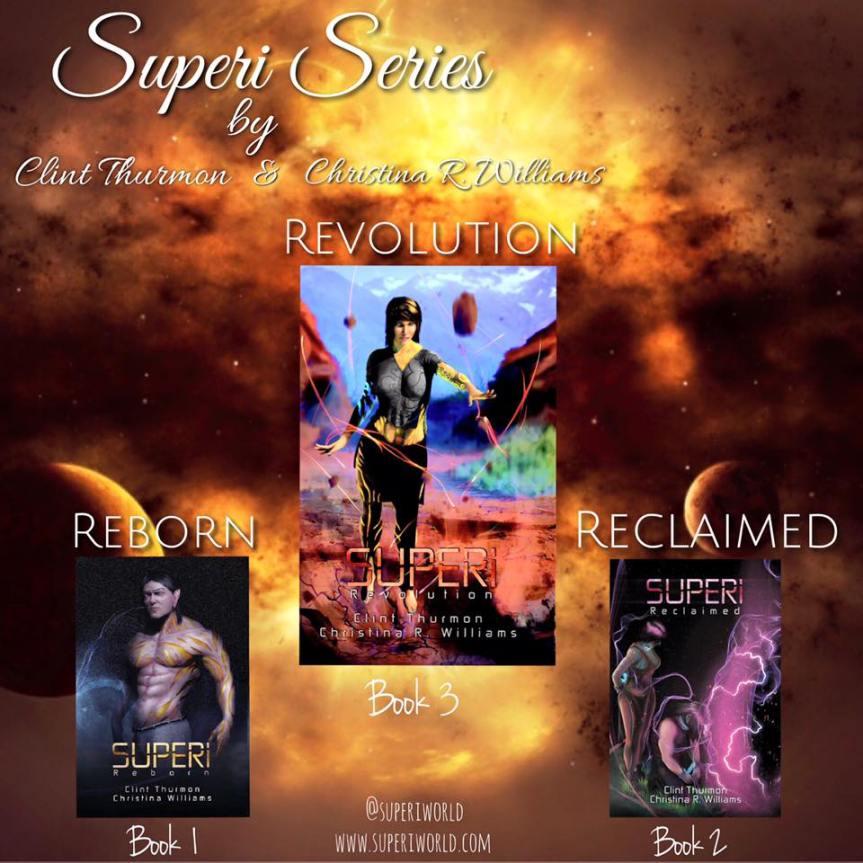 Release Blitz Superi: Revolution  by Christina R. Williams & ClintThurmon